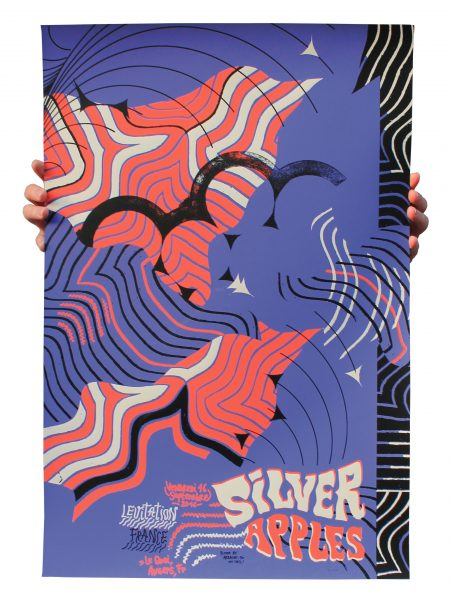 Affiche Silver Apples