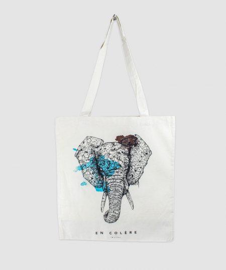 mahnu elephant totebag